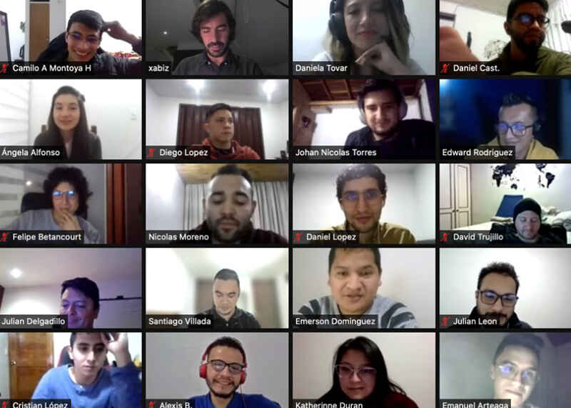We are UNIANDES training service providers! And we started on the right foot: AD HOC expedition game for 2,600 TAC collaborators in 5 countries