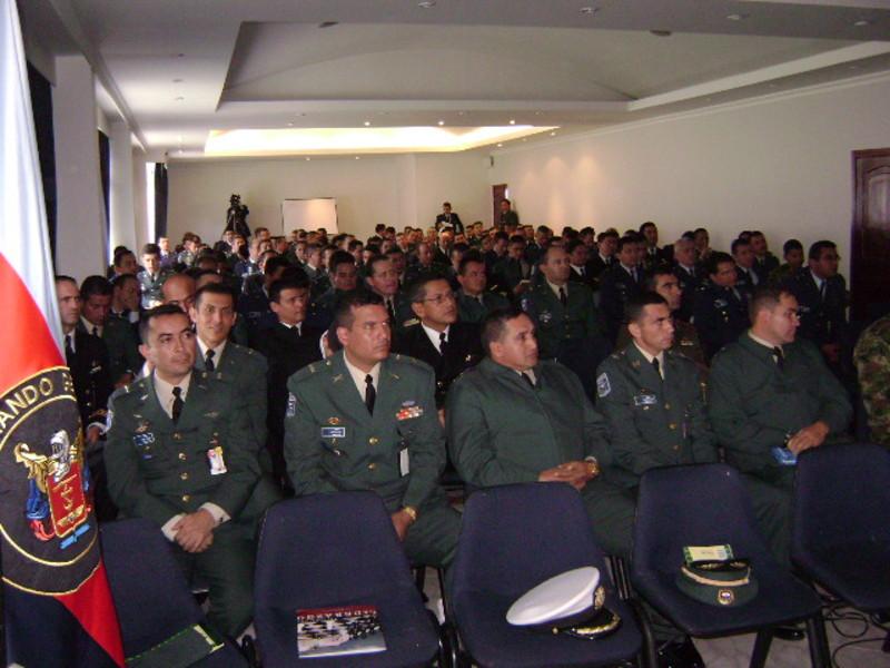 Conferencia de Liderazgo para altos oficiales de la Escuela Superior de Guerra