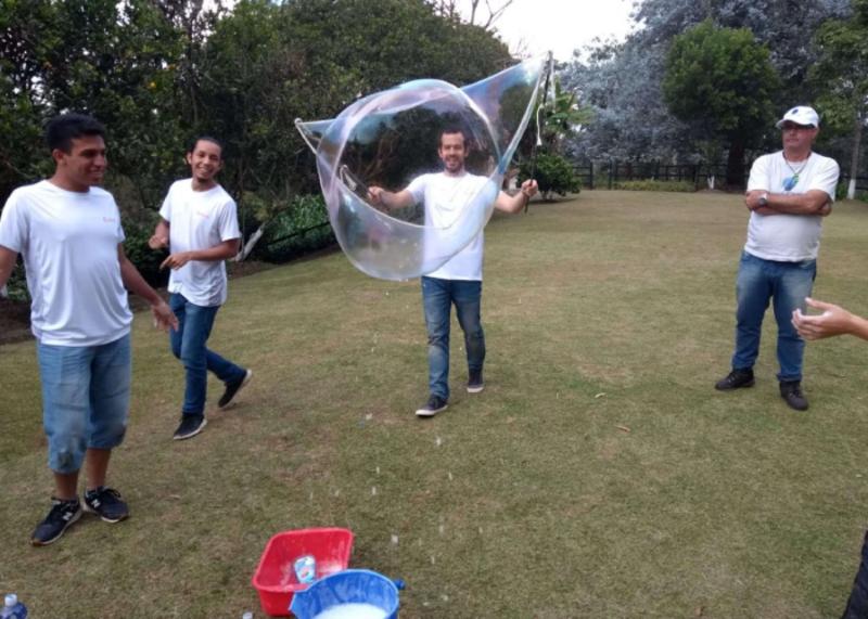 Jornada outdoor de integración y team building para el 10° aniversario de nuestro cliente CELERIK SOFTWARE | Sede: Una deliciosa finca en San Vicente (Ant.) | Ver imágenes