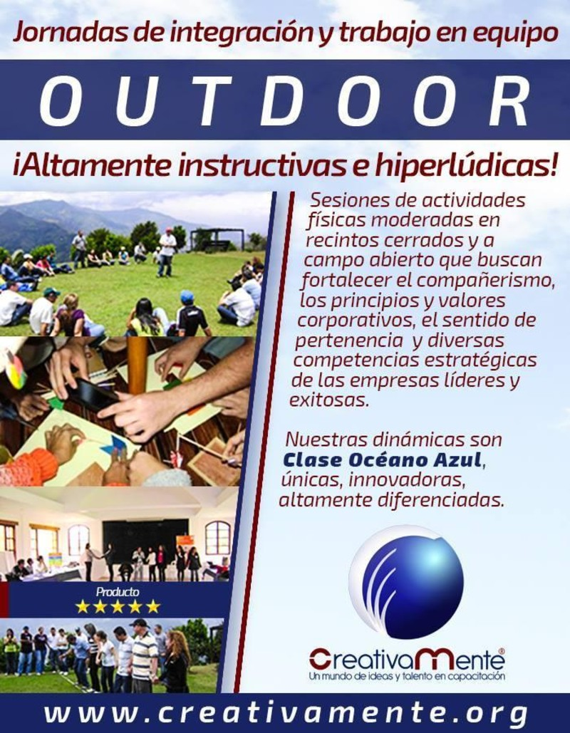 Dinámicas y Talleres In y Outdoor